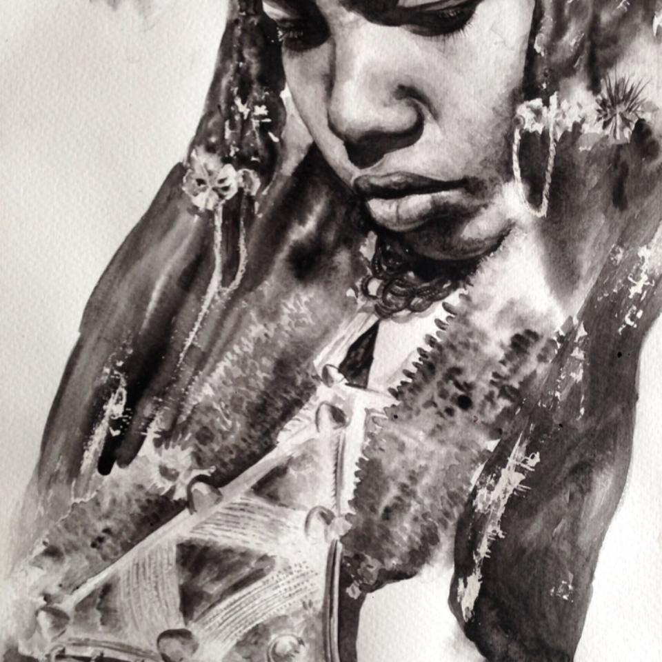 Tuareg- the bride
